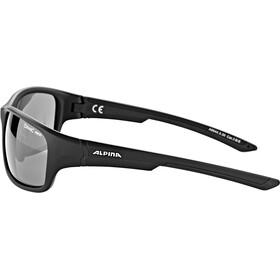 Alpina Lyron S Gafas, black matt/black mirror